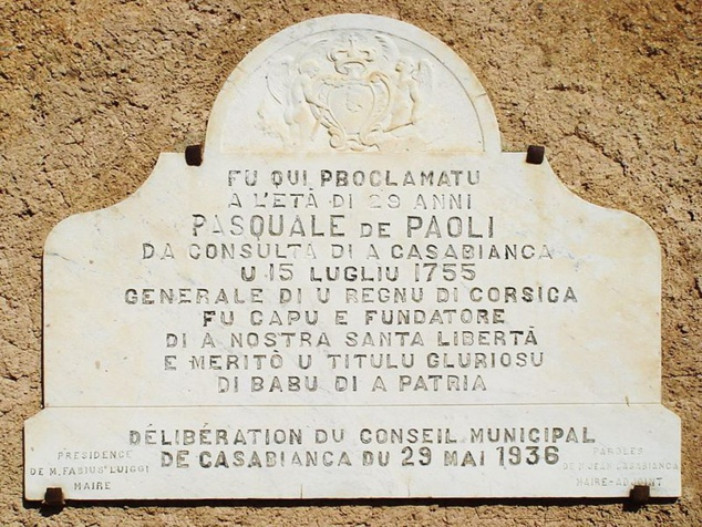 U guvernu di Pasquale Paoli