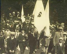 A storia di a bandera corsa