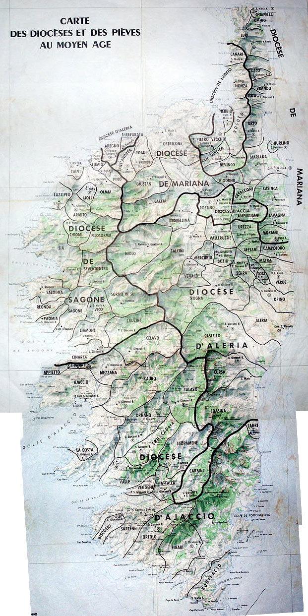 E pieve di Corsica