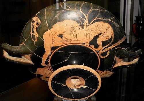 Héraklès è u leone di Némée (© Clio20 / Flickr)
