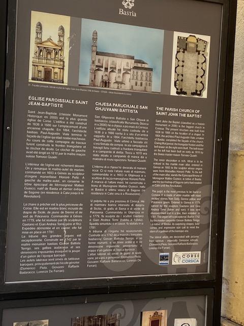 A 5B à a scuperta di a storia di Bastia